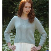Debbie Bliss Cropped Cable Sweater PDF - Magazine #10