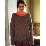 Debbie Bliss Wide Neck Sweater PDF