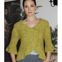 K2.23 Saratoga Shrug to Knit PDF