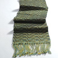 #22 8-Shaft Turned Undulating Advancing Twill Scarf (Free)