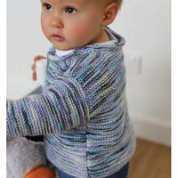 Garter Stitch Sweater PDF