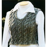 Lisa Ellis Designs Unisex Cable Vest