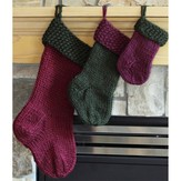 Lisa Ellis Designs A-8 Old Fashioned Christmas Stockings PDF