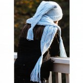 Lisa Ellis Designs H-25 Winter Cables Hat & Scarf PDF