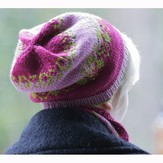 Lisa Ellis Designs H-36 Starry Night Hat and Cowl PDF