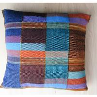 Clasped Weft Pillow on the Rigid Heddle Loom