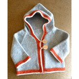 Top Down Baby Cardigan with Susan B. Anderson