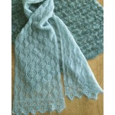 Fiber Trends AC73X Cocoon Lace Scarf & Wrap