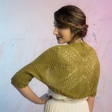 The Fibre Company + Kelbourne Woolens Prospect Shrug - Pathways Collection