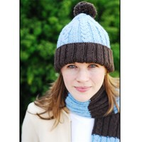 2237 Mable Cap & Scarf PDF