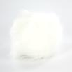 Universal Yarn Luxury Fur Pom Poms - White