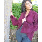 Grace Akhrem Bougainvillea Lace Shrug PDF