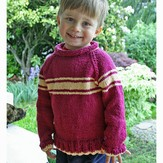 Gardiner Yarn Works Kids' Stripey Raglan PDF