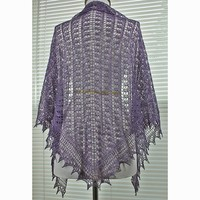 Toe the Line Shawl PDF