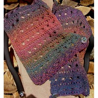 Bloomin' Silk Tweed Shrug (Free)