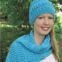 Cushy Hat and Scarf Set PDF