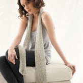 Jo Sharp Ribbed Scarf PDF