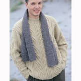 Jo Sharp Turtledove Cable Sweater PDF