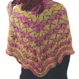 Knit One Crochet Too 1818 Butterflies Shawl