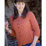 Knit One Crochet Too Warp & Weft Cardi