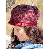 Knit One Crochet Too 2242 Plaid Cap