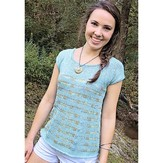 Knit One Crochet Too 2312 Rip Tide Tee