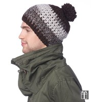 Cap Basic Hat and Neck Warmer (Free)