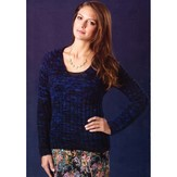 TSCArtyarns Mood Indigo Pullover Kit