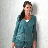 259 Hanging Garden Layered Cardigan