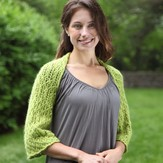 Valley Yarns 395 Highland Lake Lace Shrug Kit