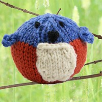 402 Knit Bluebird Kit (Free Pattern)