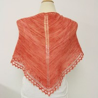 B6 Basic Triangle Shawl Kit
