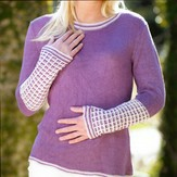 Kolláge Yarns 3627 Slip Stitch Tunic