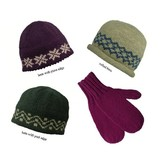 Nancy Lindberg Straight Needle Hat & Mittens