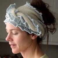 069 Silk Alpaca Head Wrap