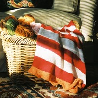 055 Striped Baby Blanket PDF