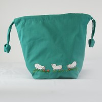 Meadow Pouch Project Bag