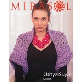 Mirasol 5086 Super Bulky Dropped Stitch Shrug