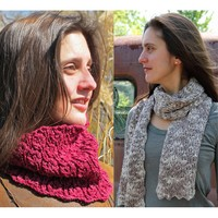 Iota Cowl and Scarf Set PDF