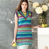 Noro Mock Cable Tunic PDF