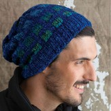 Noro Slouchy Checkered Hat PDF