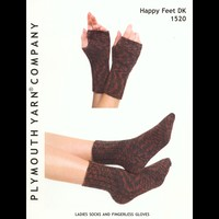 1520 Ladies Socks and Fingerless Gloves