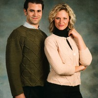1789 Unisex Cabled Pullover & Cardigan