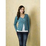 Plymouth Yarn 1865 Long Sleeved Cardigan