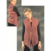 Plymouth Yarn 2111 Woman's 2-Piece Vest