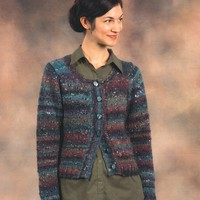 2168 Mushishi Woman's All Over Eyelets Lace Cardigan