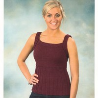 2178 Worsted Merino Superwash Classic Camisole