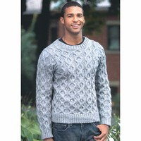 2278 Man's Cabled Pullover