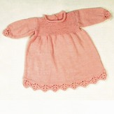 Plymouth Yarn 2396 Baby Dress