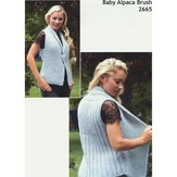 Plymouth Yarn 2665 Collared Vest